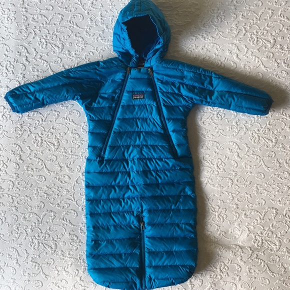 fe863e8478 NWOT Patagonia down baby bunting